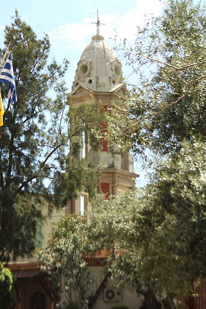 Church of St. Symeon, Mytilene - Image: Belltowersimeon