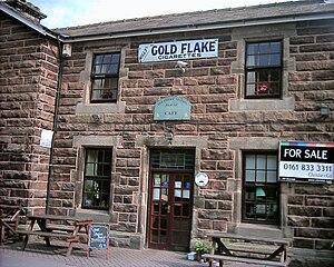 Delamere, Cheshire - Image: Benkid 77 Delamere station house 010709