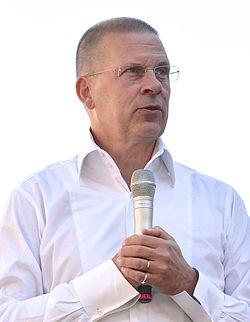 Benny Fredriksson på Sergels torg under Stockholms Kulturfestival 2013.