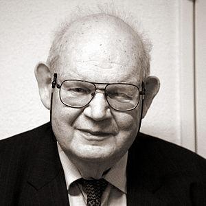 Benoît Mandelbrot at the EPFL, on the 14h of M...