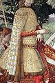 Benozzo gozzoli, corteo dei magi, 1 inizio, 1459, 41.JPG