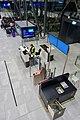 Bergen Airport Flesland, Norway 2019-11-21 Passengers waiting Gate B16 B17 Widerøe Counter Screens Seating (utgang, avgangshall) etcDSC01017.jpg