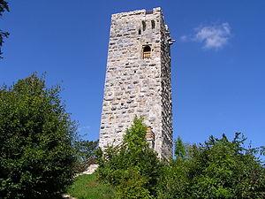 Schelklingen - Tower of the Hohenschelklingen castle