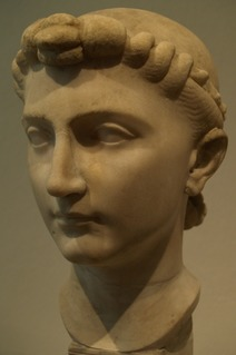 Julia the Elder Daughter of Augustus Caesar, the first Roman Emperor, and his second wife, Scribonia.