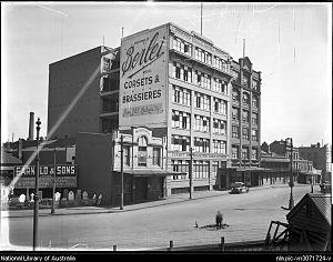 Berlei - Berlei House in Regent Street, Sydney