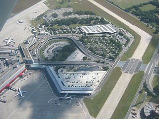 Tegel from the air in 2005