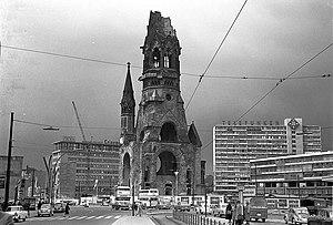 Breitscheidplatz - View from Tauentzienstraße, 1960