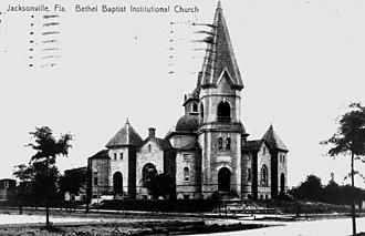The Bethel Church - The Bethel Church building around 1911.