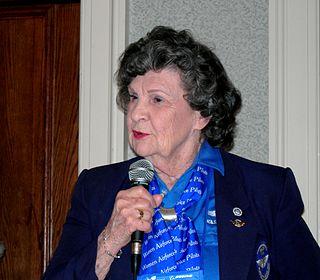 Betty Jane Williams American aviator
