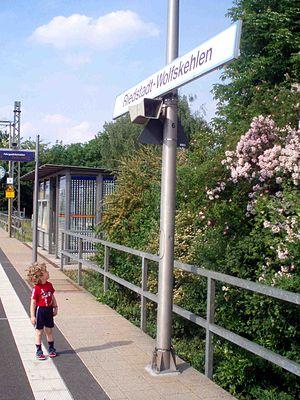 Mannheim–Frankfurt railway - Riedstadt-Wolfskehlen station