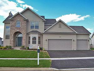 Big single-family home