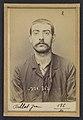 Billot. Jean. 23 ans, né le 23-1-71 à Bourges (Cher). Tireur en barre. Anarchiste. 1-7-94. MET DP290179.jpg