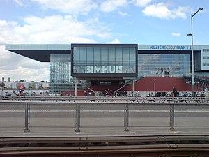 Bimhuis - Bimhuis and Muziekgebouw aan 't IJ by day
