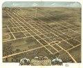 Bird's eye view of the city of Princeton, Bureau County, Illinois 1870. LOC 73693370.tif