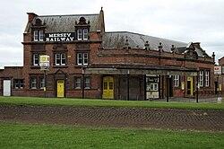 Birkenhead Central railway station building.JPG