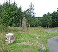 Birse Millennium Stone, Corsedardar Hill - geograph.org.uk - 35785.jpg
