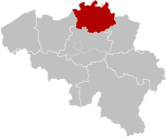 Roman Catholic Diocese of Antwerp - Image: Bisdom Antwerpen