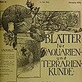 Blätter für Aquarien- und Terrarien-Kunde (1905) (19766503283).jpg
