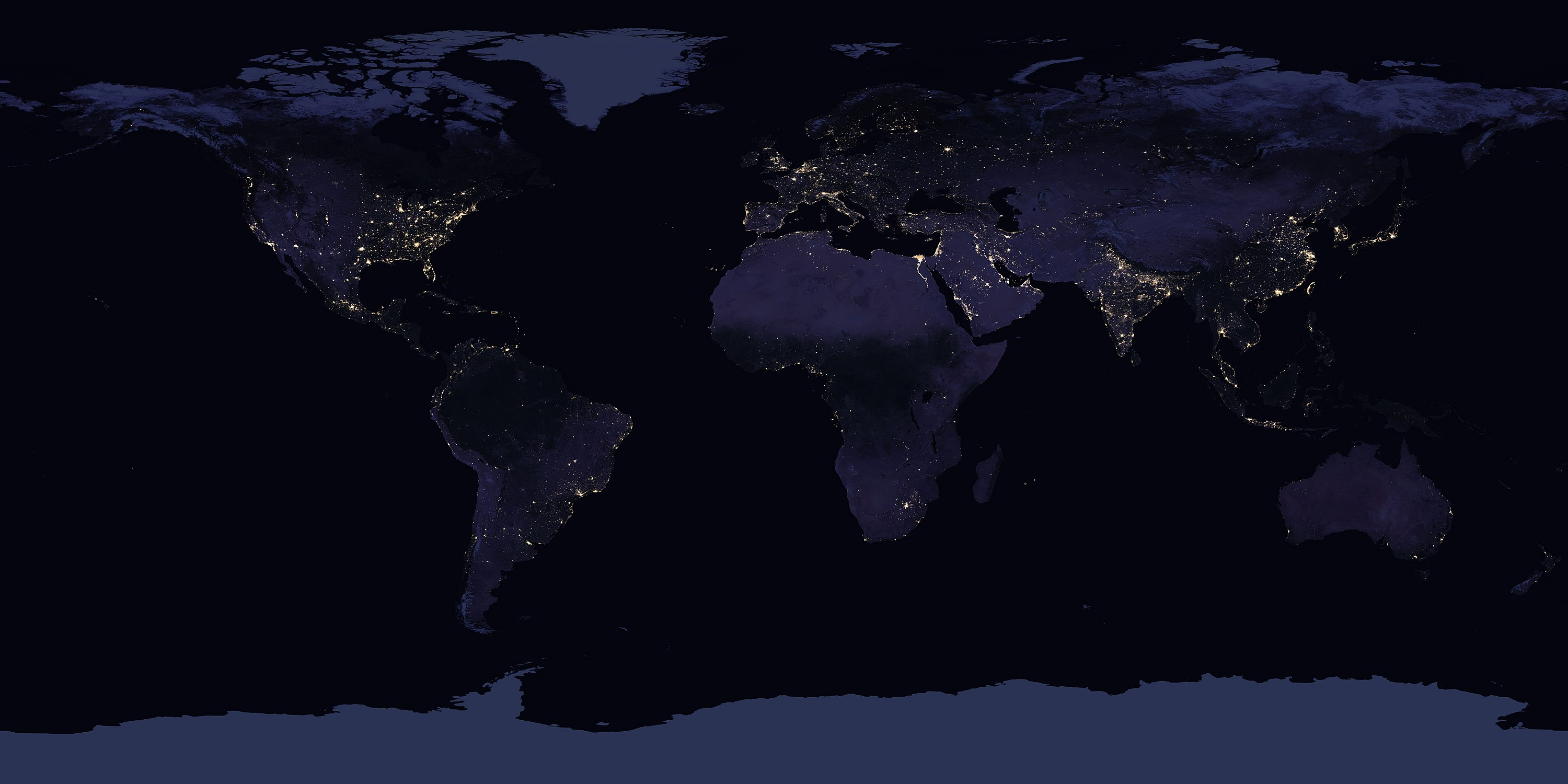 Night light wikipedia - A Worldwide Cloud Free Mosaic From The Suomi Npp Satellite Showing The Extent Of Visible Lights In 2016 The Effects Of Light Pollution Especially