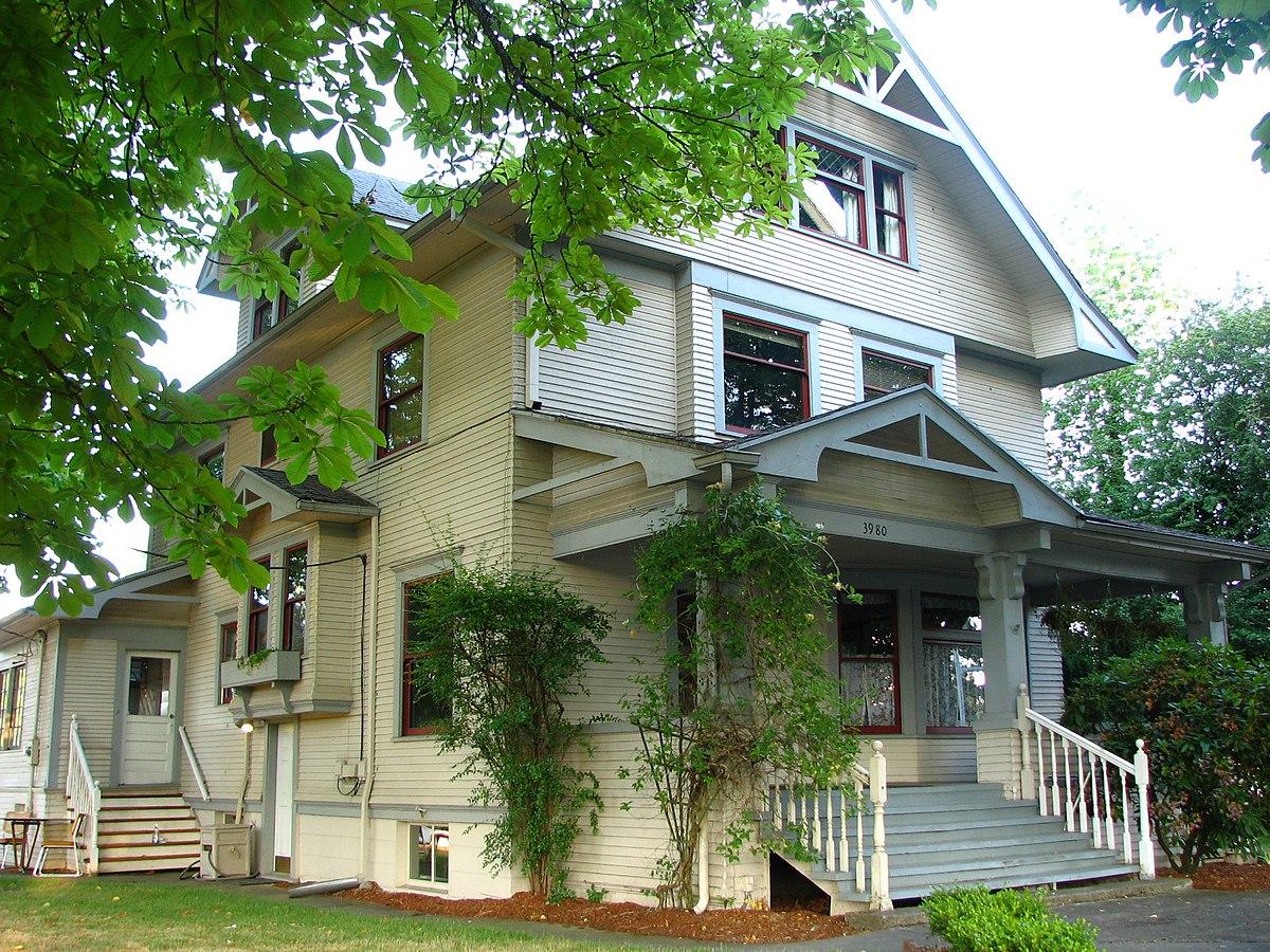 M e blanton house wikipedia for Building a home in oregon