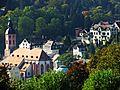 Blick vom Annaberg auf die Stiftskirche und Altstadt Baden-Baden - panoramio.jpg