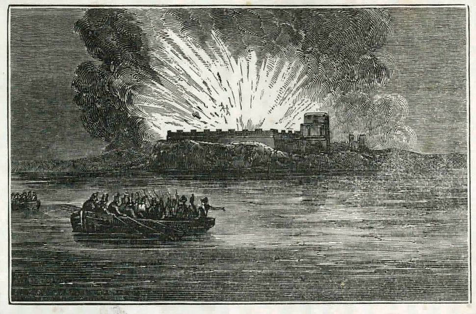 Blowing-up-fort-barancas