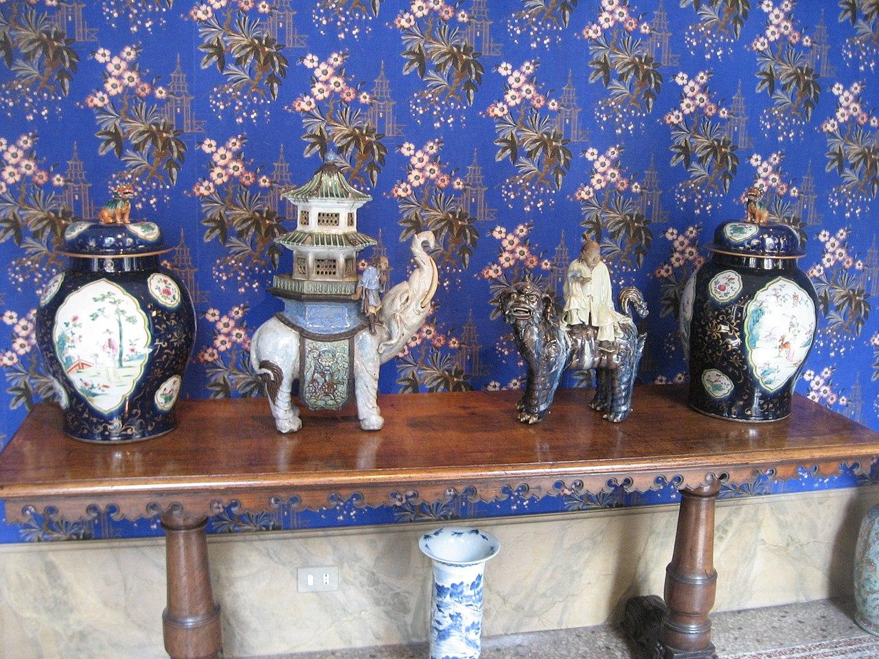 Милан палаццо морандо китайская галерея фарфор