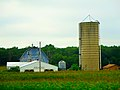 Blue Barn with a Silo - panoramio.jpg