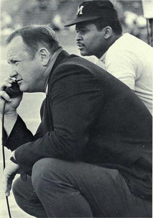 Bo Schembechler - Schembechler from 1970 Michiganensian