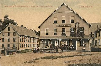 Alton, New Hampshire - Image: Boarding & Dining Buildings, Alton Bay Camp Grounds
