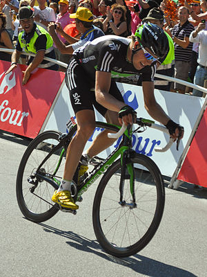 Edvald Boasson Hagen - Boasson Hagen at the 2011 Tour de France; he won two stages during the race.