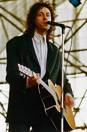 Benefit concert - Bob Geldof, who led the Live Aid event in 1985