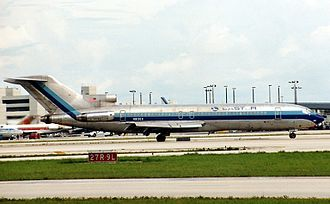 Eastern Air Lines Flight 66 - A Boeing 727 operated by Eastern Air Lines, similar to the aircraft which crashed