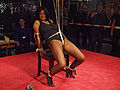 Bondage endurance challenge at BoundCon 2013.jpg