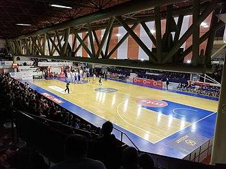 KK Borac Čačak - Borac Hall, February 2019