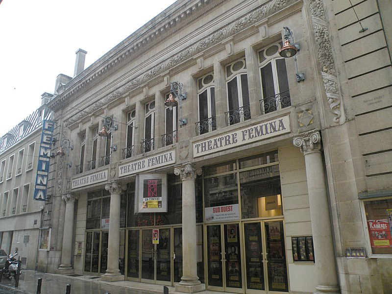 File:Bordeaux - Théâtre Femina.jpg