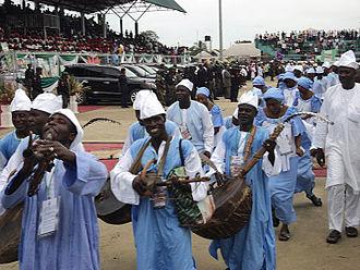 Borno State - Dancers in Borno state attire