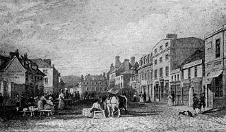 Truro - Boscawen Street in 1810