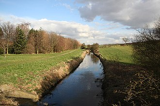 Bottesford, Lincolnshire - Image: Bottesford Beck geograph.org.uk 123560