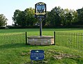 Bottesford village sign and commemorative railings - geograph.org.uk - 1039875.jpg