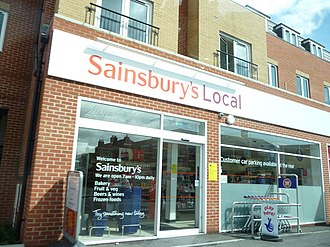 Sainsbury's Local - Sainsbury's Local in Winton, Bournemouth.