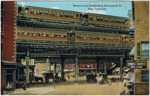 New york city el trains