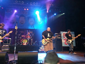 Bowling for Soup - Bowling for Soup performing in 2013