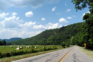 Arkansas - View from the Ozark Highlands Scenic Byway in Boxley Valley