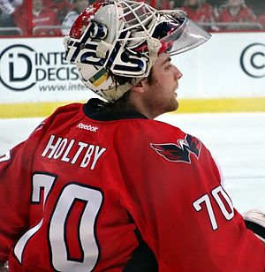 Braden Holtby - With the Capitals in 2013.