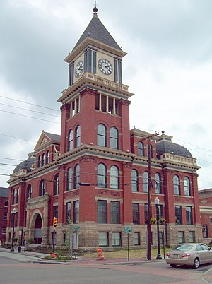 Bradford, Pennsylvania - Old City Hall