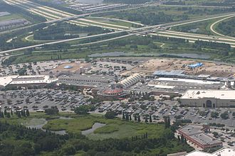 Brandon, Florida - Westfield Shopping Center Mall (formerly Brandon Town Center)
