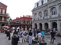 Brass Band at Jackson Square, New Orleans, Louisiana, USA, 2014.jpg