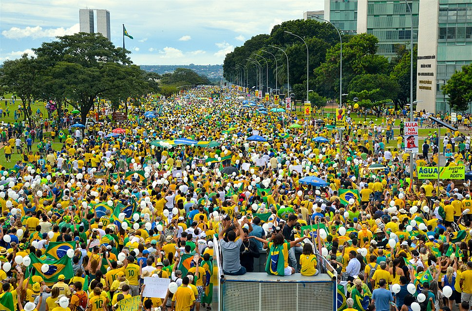Brazil protest 2016 March