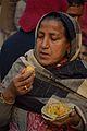Breakfast - Gangasagar Fair Transit Camp - Kolkata 2013-01-12 2505.JPG